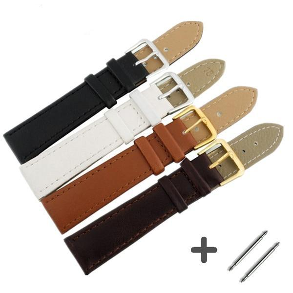 Leather Watch Strap - Tang Clasp