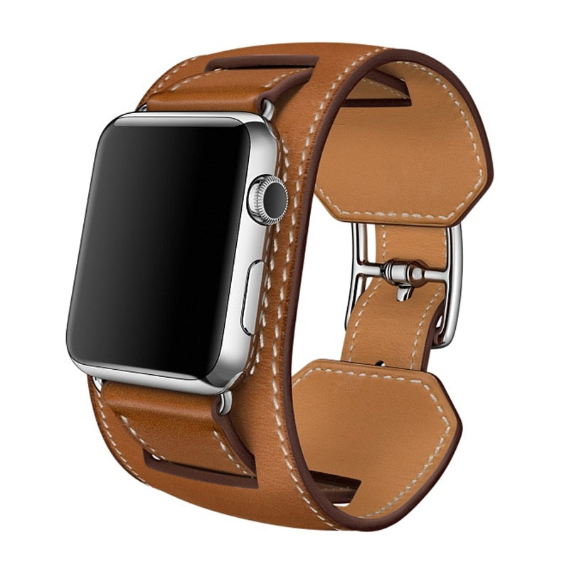 Brown Apple Watch Band