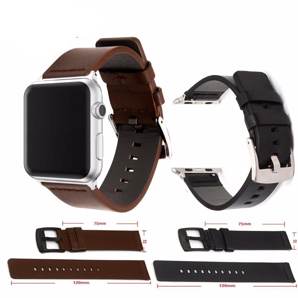 Premium Leather Apple Watch Band
