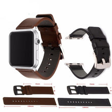Load image into Gallery viewer, Apple Watch Premium Leather Band