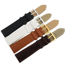 Load image into Gallery viewer, Leather Watch Strap - Tang Clasp