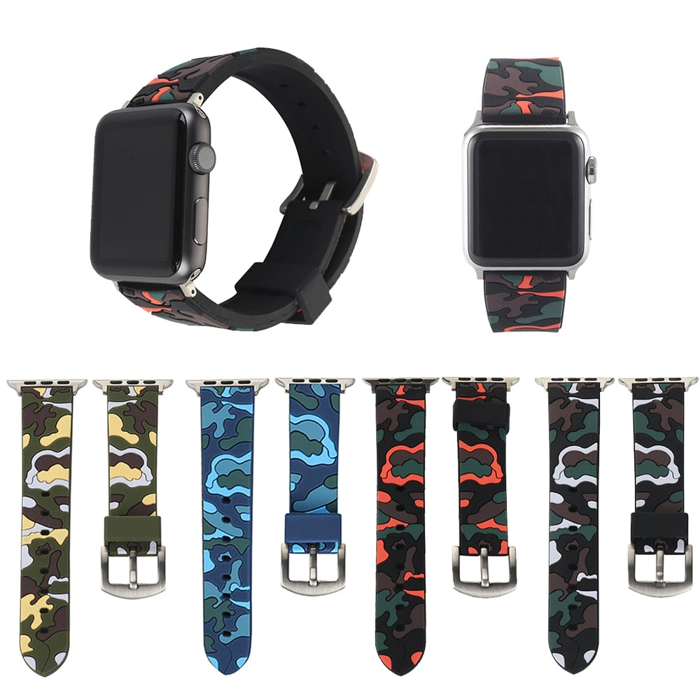 Camouflage Apple Watch Band