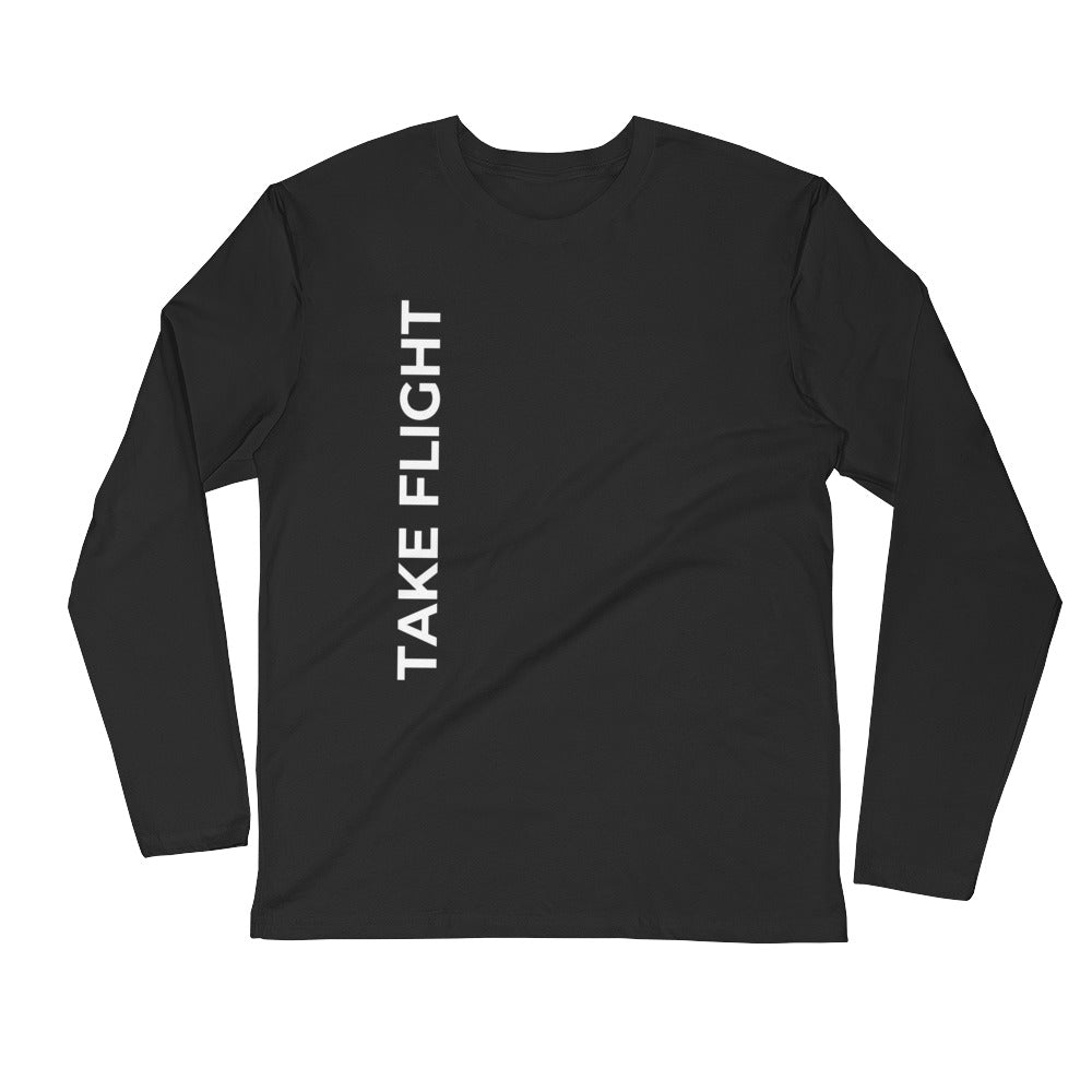Take Flight Long Sleeve Fitted Crew
