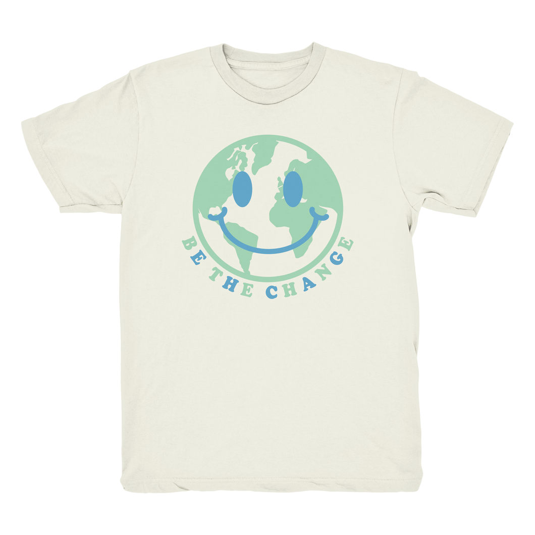 Be The Change Tee - Earthly Ivory