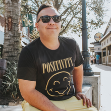Load image into Gallery viewer, Positivity Tee - Vintage Black