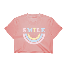 Load image into Gallery viewer, Smile Crop Top - Dusty Rose