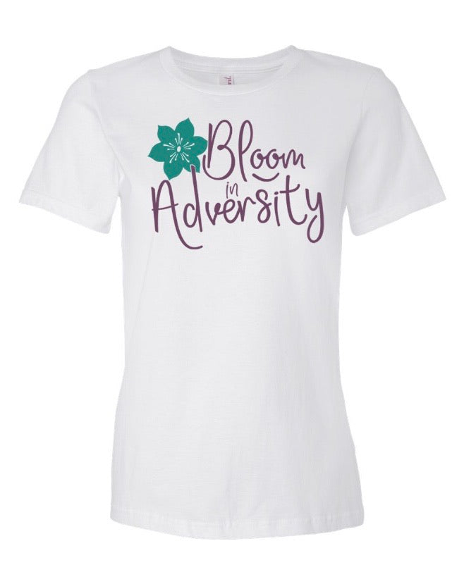Bloom In Adversity Women's Tee