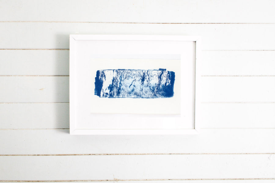Paperbark Forest Cyanotype