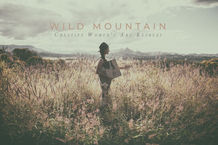 'WILD MOUNTAIN' Creative Retreat for Women