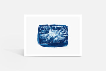 Riverscape Cyanotype