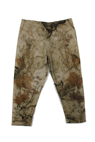 Size 14 - Original Naturally Dyed Cotton 3/4 Leggings