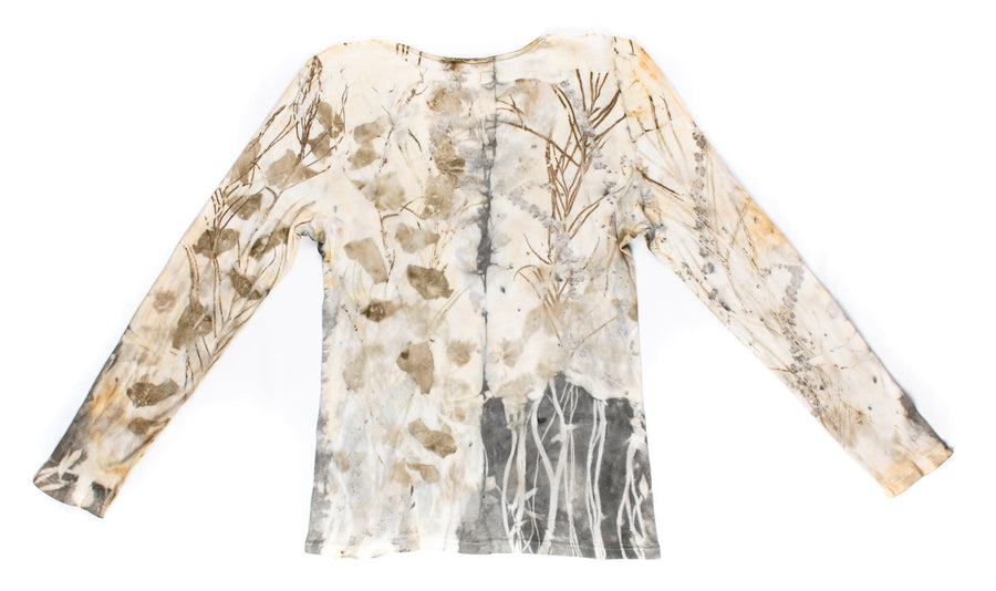 Original Naturally Dyed Long Sleeve Top