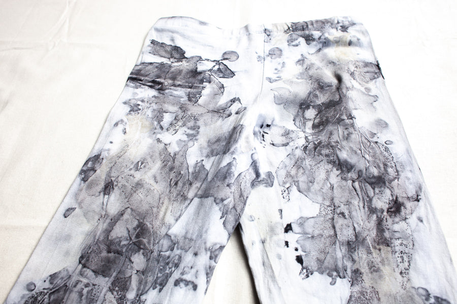 Size 10 - Original Naturally Dyed Cotton 3/4 Leggings
