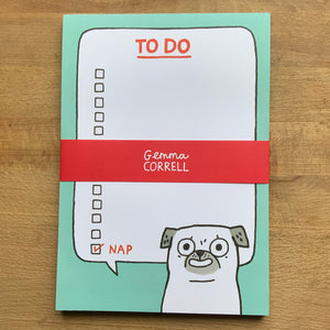 Pug To Do A5 Notepad