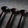 Black Walnut Condiment Spoon