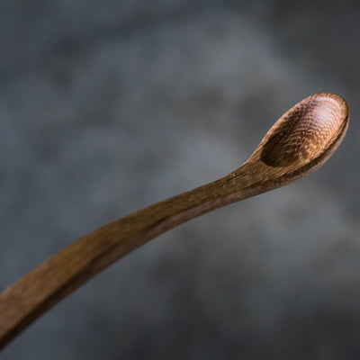 White Oak Baby Spoon