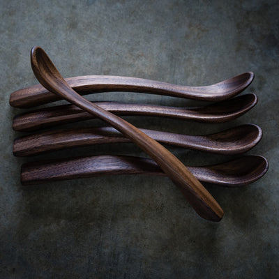 Black Walnut Baby Spoon