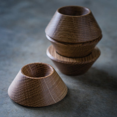 White Oak Egg Cup
