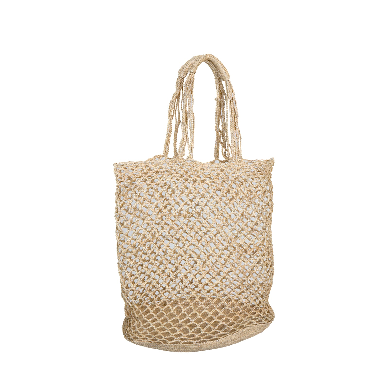 Holly Bag - Natural/silver