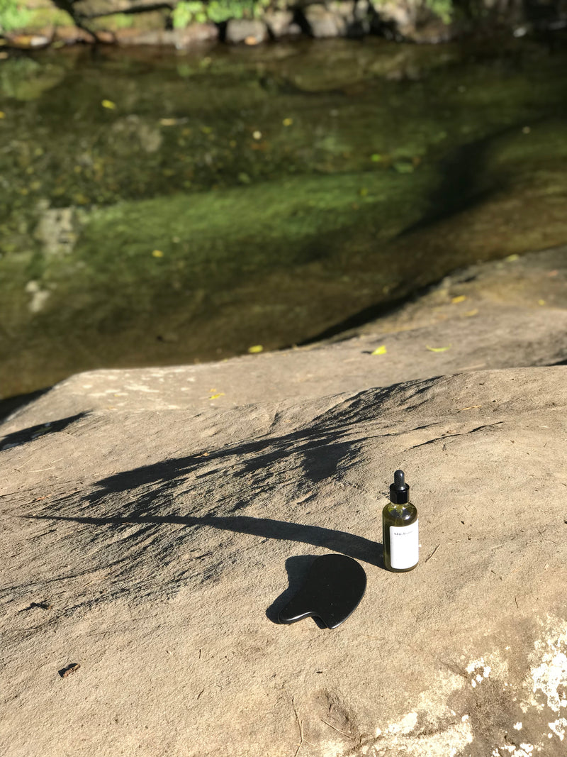 Starter Kit: Gua Sha Board & Facial Oil