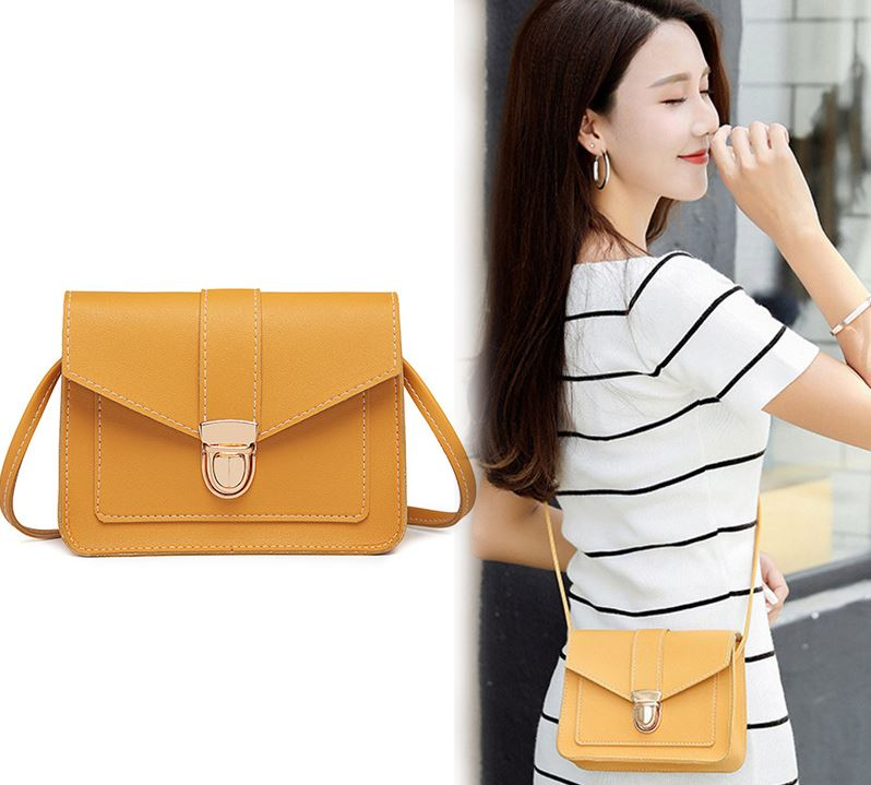 2019 Hot High Quality Fashion Women Crossbody Buckle Bags Female Small Solid Color Messenger Shoulder Bag Bolsos Mujer KA-BEST