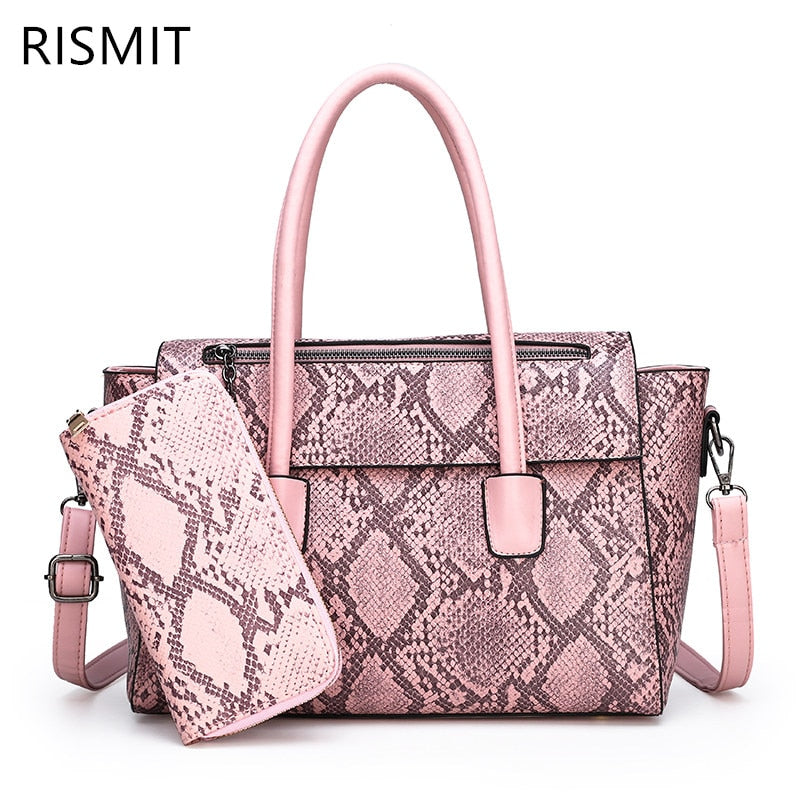 Bolsas Feminina Limited Rismit 2019 New Bag For A Woman, Shoulder With Snake Belly, Handbag For Woman And Messenger For Tiankuo