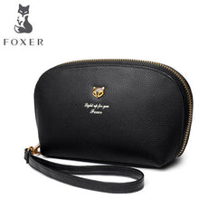 FOXER 2019 New Women Leatherbag designer famous brand Multifunctional wrist mobile phone bag fashion leather women clutch bag