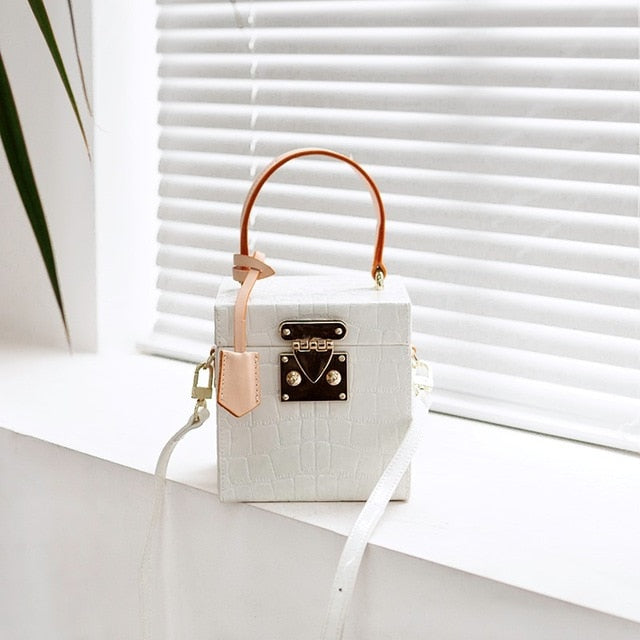 Box Small Flapfemale 2019 New Confectionery Mini Tinted Genuine Leather Bags for Women Handbag Crossbody Bags Designer Bag