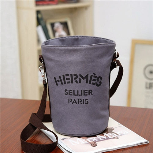 Fashion Women Bags Casual Bucket Bag 2019 Canvas Retro Mini Messenger Bag Female Simple Shoulder Bag Designer Travel Handbags