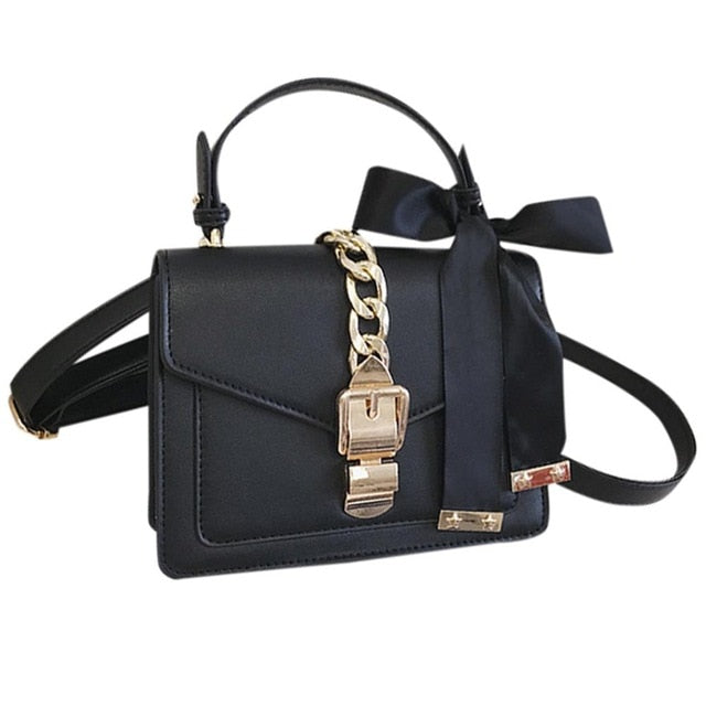 Women's Simple Fashion Chain Handbag Shoulder Bag Messenger Small Square Bag Luxury Handbags Women Bags Designer 2019 New