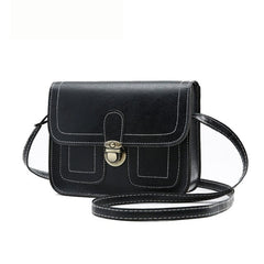Women's Crossbody for 2019 Spring Small Square Bag Women's Designer Buckle Bag Vintage Shoulder Crossbody Bag Mobile Bags