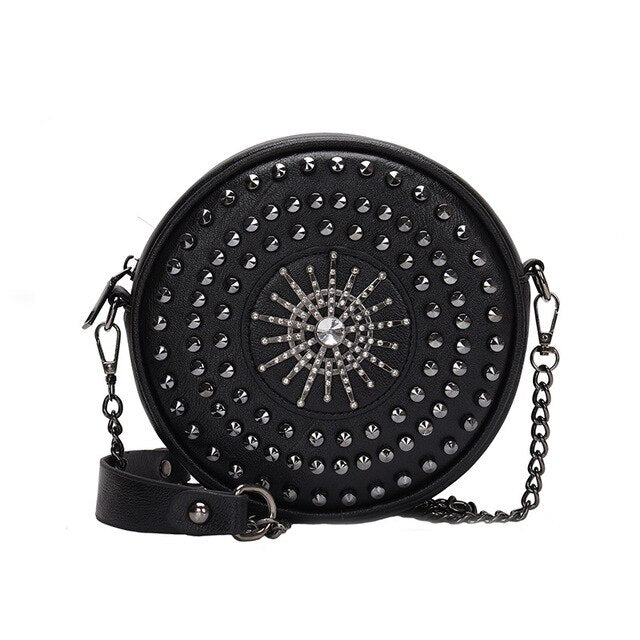 Rivet Women Messenger Bags Small Female Shoulder Crossbody Bags High Quality Luxury Handbags Women Chain Bag Designer sac a main