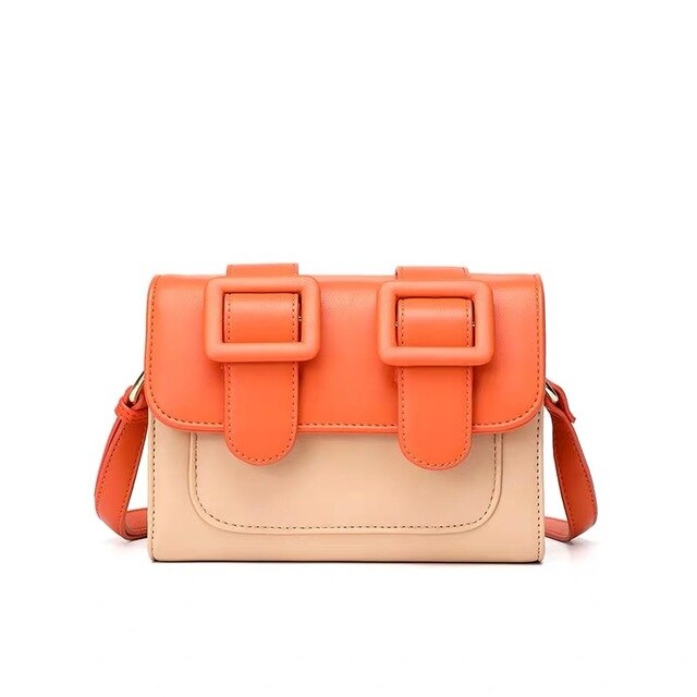 Bags For Women 2019 Orange Satchels Bag Crossbody Bags For Women Torebki Damskie Clutch Bag Bolsa Feminina Shoulder Bag Female