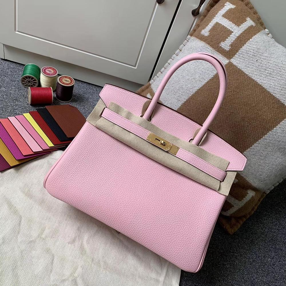 2019 luxury handbags woman bags designer genuine leather runway female Europe brand top quality30cm