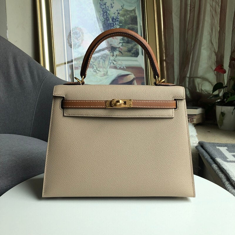 2019 luxury handbags woman bags designer genuine leather runway female Europe brand top quality 30cm