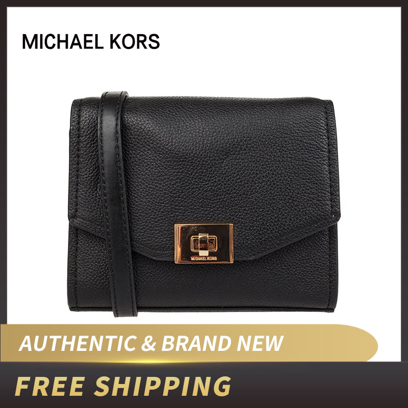 Michael Kors Cassie Leather Small Crossbody Purse 35H8GT6C5L/35H8ST6C1T