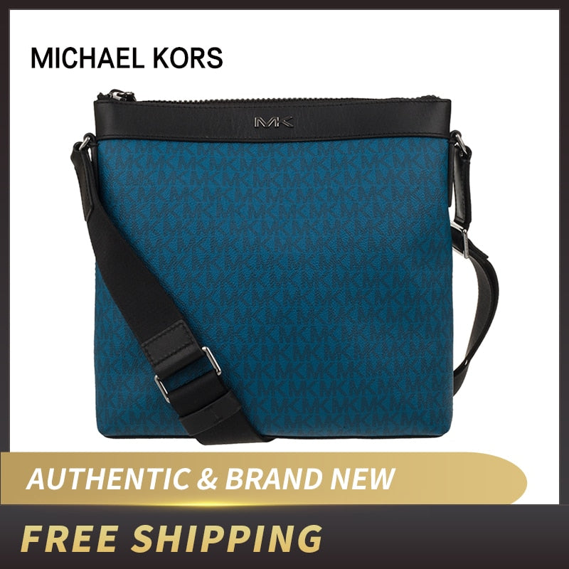 Authentic Original & Brand new luxury Michael Kors Men's Cooper Messenger Crossbody Bag 37U9LCRC2B