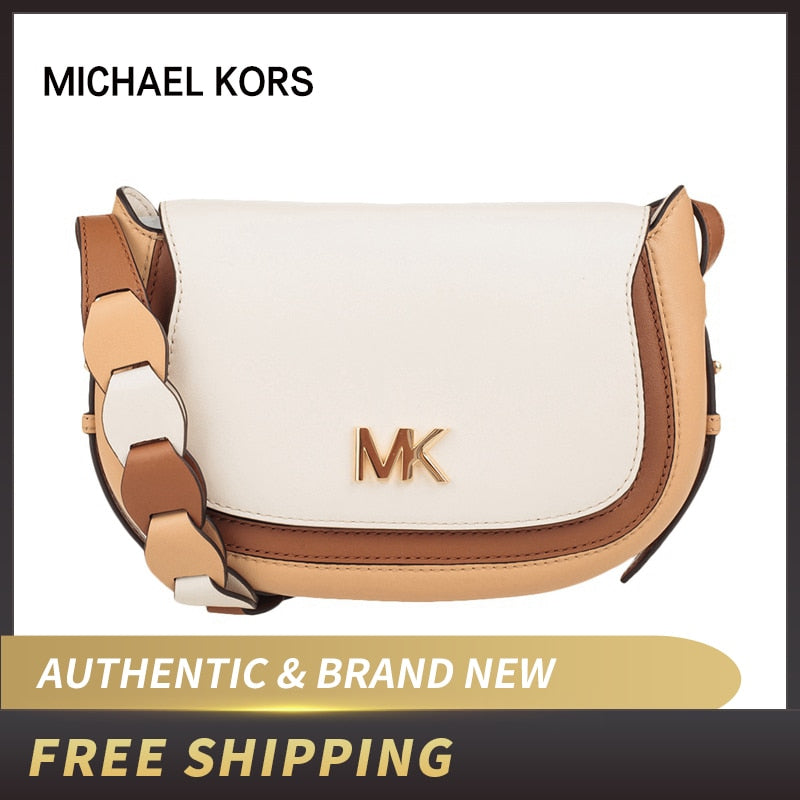 Jolene Small Tri-color Leather Saddle Bag | Michael Kors 30S9GJVM1T/30S9RJVM1T/30S9GJVM1L