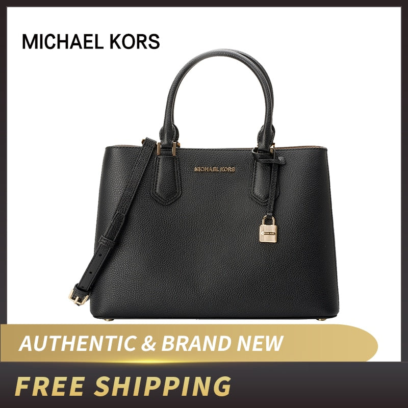 Michael Kors Adele  Leather Large Satchel Bag 35T8GAFS2L/35T8SAFS3L