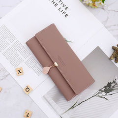 Fashion Women Lady PU Leather Clutch Wallet Long Card Holder Purse Handbag Short Coin Purse