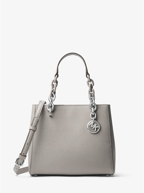 Women Michael Kors Cynthia Small Saffiano Leather Satchel Fashion Women's Luxury Leather Clutch Bag Ladies Handbags Brand MK006
