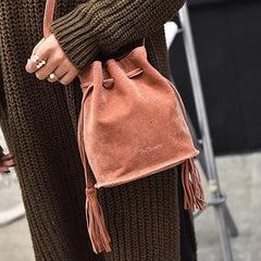 Mara's Dream Designer handbags high quality Women Bag Messenger Bags New Handbag Tassel Bucket Shoulder Handbags Crossbody 2019