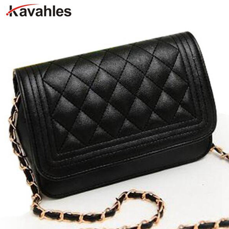 Hot sell evening bag black bag women leather handbag Chain Shoulder Bag women messenger bag fashion day clutches SD50-221
