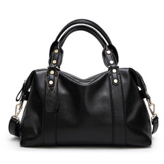 Women Famous Brands  2018 Luxury Handbags Women Bags Designer Leather Bags Female Red Blue Gray Black Bags Handbags