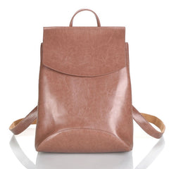 New Fashion Women Backpack Youth Vintage Leather Backpacks for Teenage Girls New Female School Bag Bagpack mochila sac a dos