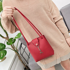 Fashion women messenger bags cross body red PU leather handbag woman clutches mini shoulder bag female designer messenger bag