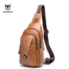 New Men Genuine Leather Cross body Bags