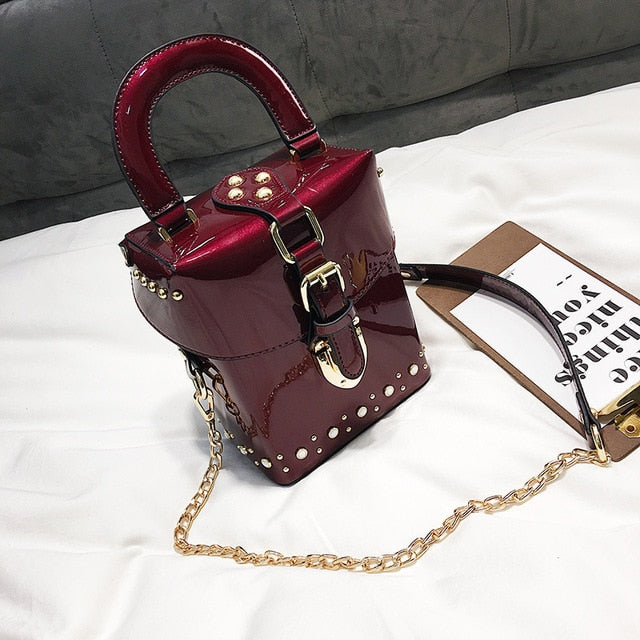Famous brand Diamond box handbags mini Cube Brand original design crossbody bag for women messenger bags