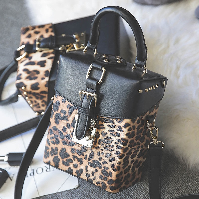 2018 Famous brand Personalized box handbags mini Cube Brand original design crossbody bags for women messenger bags