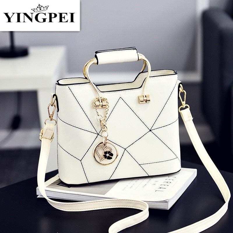 YINGPEI Women Shoulder Bags Female Women Messenger Top-Handle Bag Small Tassel Handbags Tote Handbag Designer Bolsas
